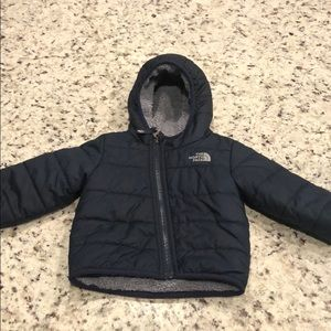 North Face Mount Chimboraz Reversible Puffer Coat